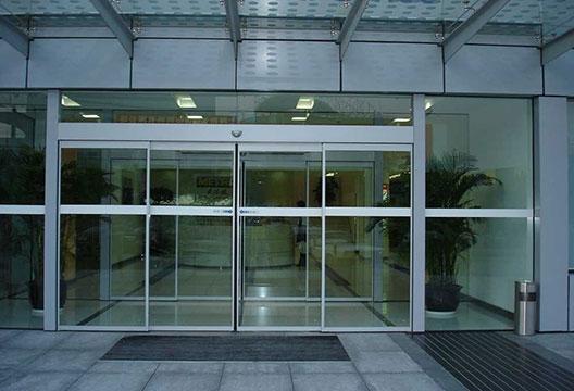 玻璃自动感应门