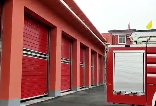 消防硬质快速卷帘门